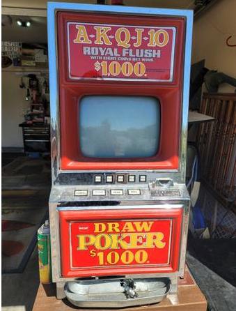 автомат для видеопокера craigslist las vegas