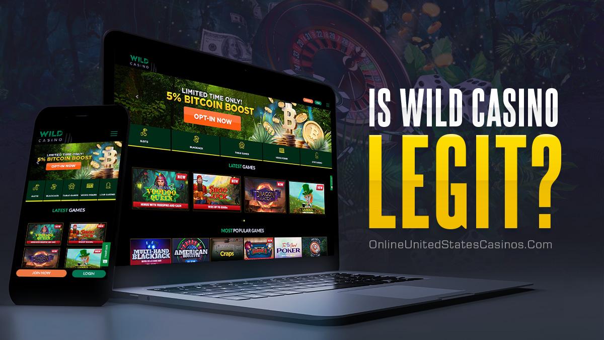 дикие казино законны?