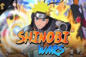 логотип игрового автомата shinobi wars online