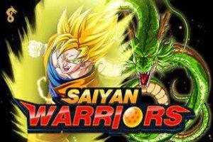 логотип онлайн-слота saiyan warriors