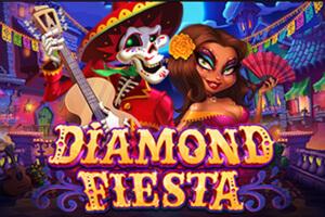 логотип онлайн-слота diamond fiesta