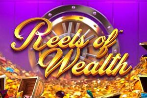 логотип слота reels of wealth