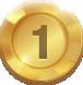 победитель джекпота онлайн-казино, первое место, золотая медаль