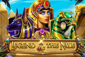 логотип игрового автомата legend of the nile