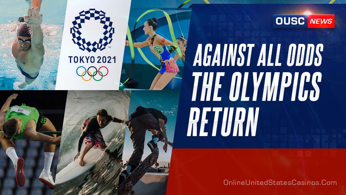 несмотря ни на что, олимпийские игры 2020 года возвращаются