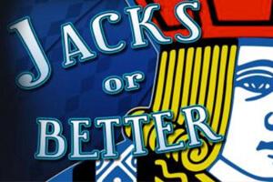 логотип видео покера jacks or better