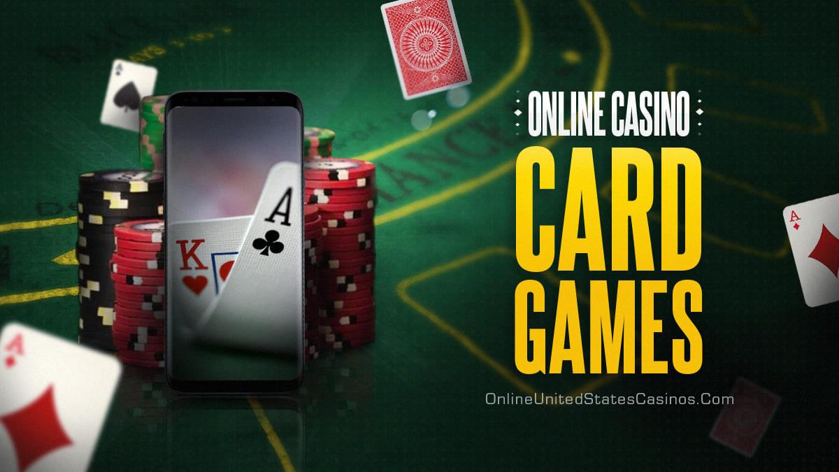 карточная игра в казино онлайн