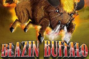 логотип игрового автомата blazin buffalo