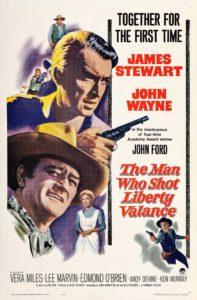 постер фильма «человек, стрелявший в либерти вэлэнс»