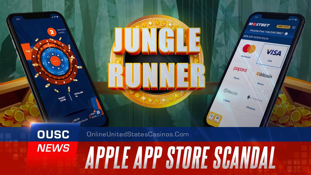 скандал в магазине приложений apple, онлайн-казино, спрятанное в детской игре