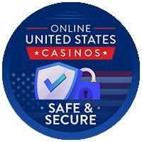 значок безопасного и безопасного онлайн-казино в сша