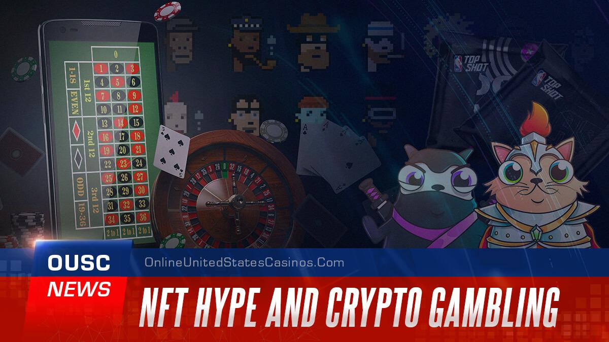 заголовок новостей nft hype и crypto gambling casino